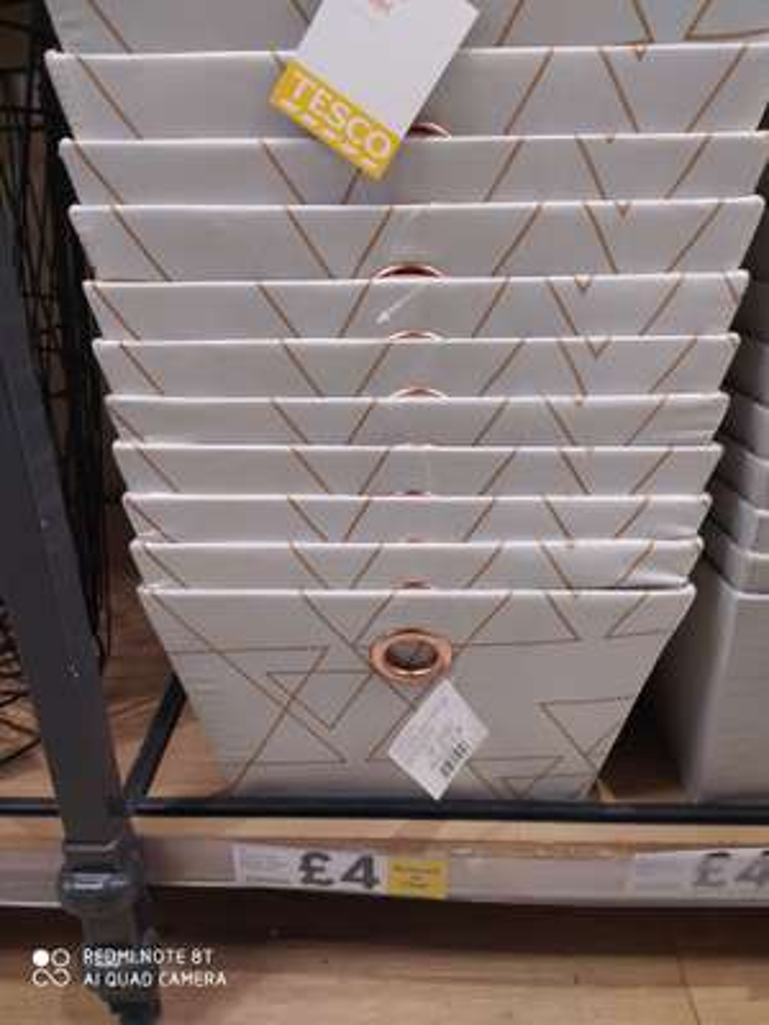 Large woven storage basket in Tesco Batley branch for £4