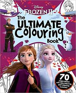 Disney Frozen 2 The Ultimate Colouring Book £2 + £2.99 NP @ Amazon