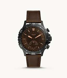Fossil Hybrid Smartwatch Garrett Brown Leather £75 at Fossil