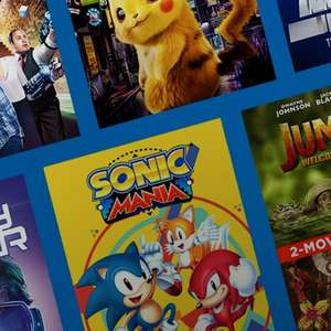 Purchase a gamer flick (movie) from £1.99 (SD) and get Sonic Mania (Xbox One Game) Free @ Microsoft Store