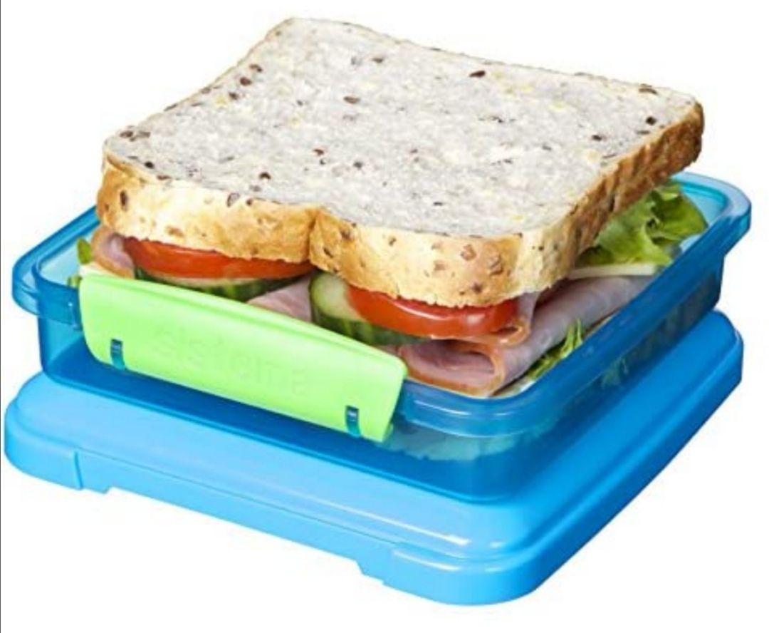 Sistema Lunch Sandwich Box, 450 ml - Assorted Colours £2.49 (Prime) / (+£4.49 Non Prime) Delivered @ Amazon