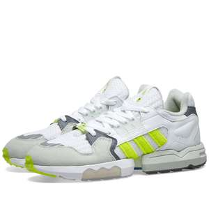 Adidas x Footpatrol ZX Torsion White, Solar Yellow & Grey trainers £49 plus £2.95 delivery @ endclothing