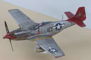 Airfix starter kit - Airfix A01004A North American P-51D Mustang™ 1:72 £4.99 in Lidl Milton Keynes