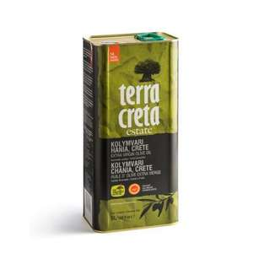 Terra Creta PDO Extra Virgin Greek Olive Oil - 5 L Tin - £34.99 @ Sold by Seba Trade and Fulfilled by Amazon.