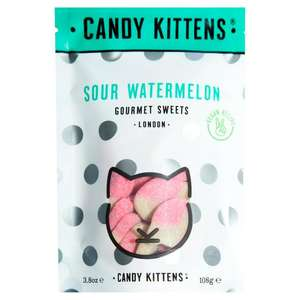 Candy Kittens Sour Watermelon / Wild Strawberry 108g £1 @ Sainsburys Instore & Online