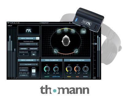 Waves Nx Virtual Mix Room + Nx Head Tracker Bundle - £66 Delivered @ Thomann