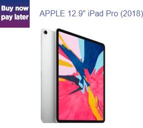 "2018 Apple iPad Pro 12.9"", A12X Bionic, iOS, Wi-Fi, 1TB, Silver - £1149 @ Currys PC World"