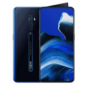 OPPO Reno2 4000mAh Snapdragon 730 6.5 inch Dual Sim 48MP 5X Zoom Ultra Wide Quad Camera Smartphone - Luminous Black - £342.44 @ Amazon