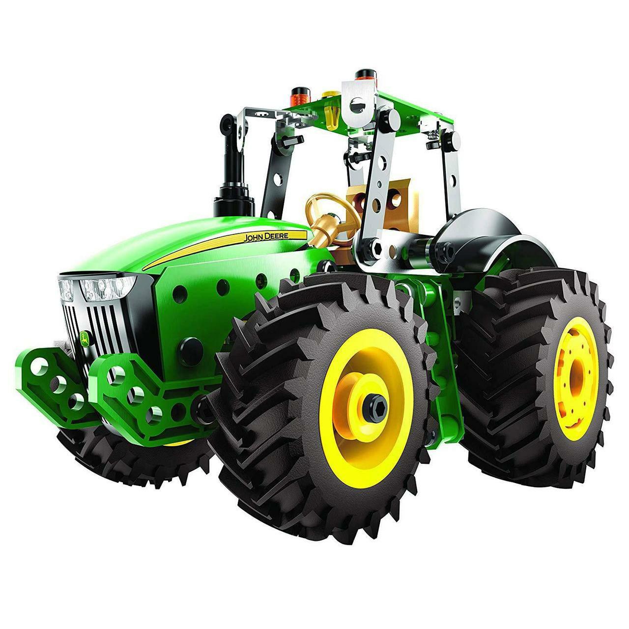 Meccano John Deere 8R Series Tractor Vehicle Construction Set £19.50 delivered @ toyz-plus eBay