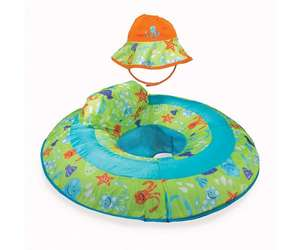 Swimways Baby Spring Float With Hat £5.99 with free Delivery From Bargain Max