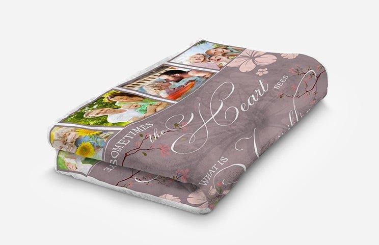 Mink Touch Photo Blanket Medium 102x76cm £12.99 / Throw 157x127cm £15.99 / Queen 203x152cm £25.99 delivered, using code @ Printerpix