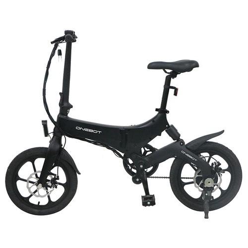 ONEBOT S6 Folding Electric Bike 250W Motor Max 25km/h 6.4Ah Battery - Black £497.33 geekbuying