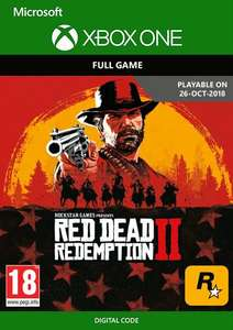 Red Dead Redemption 2 Xbox One (US) - £23.99 @ CDkeys
