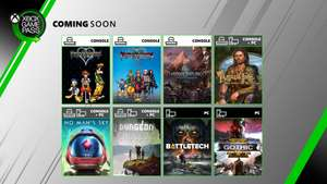 [Xbox One/ PC] Thronebreaker / Battlefleet / Bard's Tale, Kingdom Hearts (HD 1.5 + 2.5 ReMix) + More Coming to XB Game Pass in June