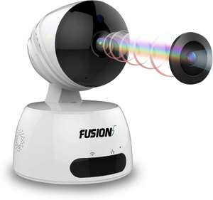 Fusion5 Advanced IP Camera - HD, Two-way Audio Speaker Support £9.97 (Prime) / £14.46 (non Prime) Sold by F5CS LTD and Fulfilled by Amazon.
