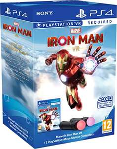 Iron man vr + move controllers bundle £74.99 @ Very (£3.99 Delivery) - Pre-order