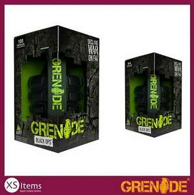 Grenade Black Ops Weight Loss Management Capsules 44 / 100 Diet Slimming Fitness @ eBay XSItems_ltd - £11.49