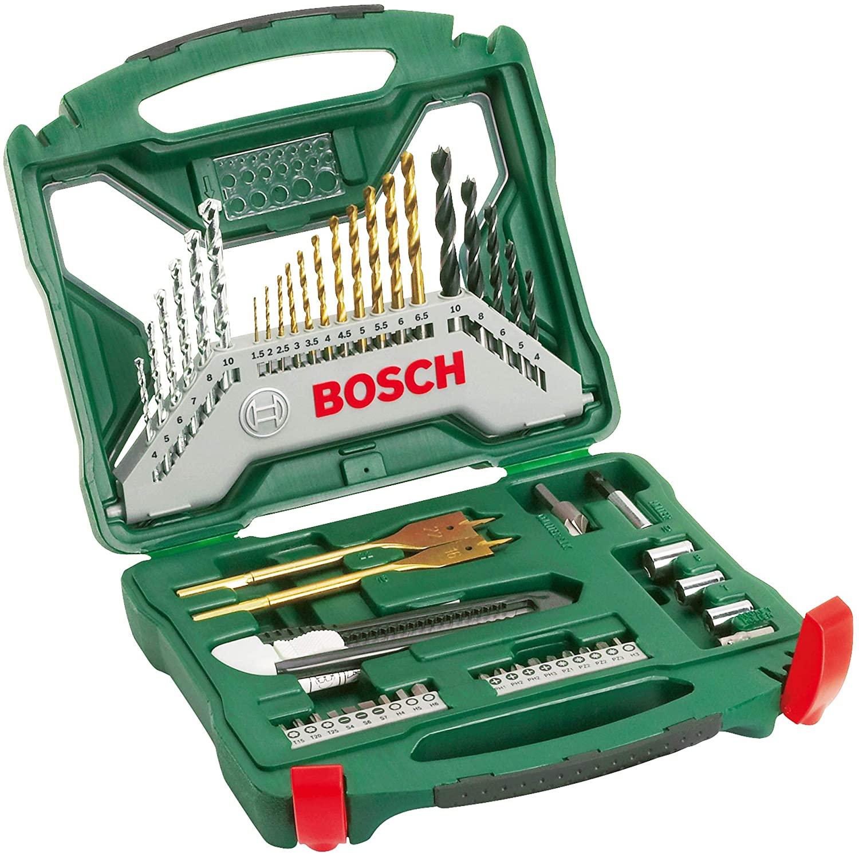 Bosch 50 piece drill accessory kit £16.09 @ Amazon (+£4.49 non-prime)