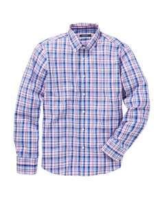 Check Shirt only £13.25 delivered @ JD Williams