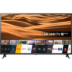 LG 55 inch 55UM7050PLC (2020) LED HDR 4K Ultra HD Smart TV £399 @ John Lewis & Partners + 5 year guarantee included