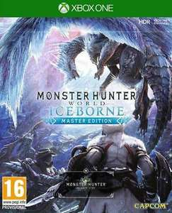 Monster Hunter World: Iceborne - Master Edition (Xbox One) for £26.63 @ delivered @ The Game Collection / eBay