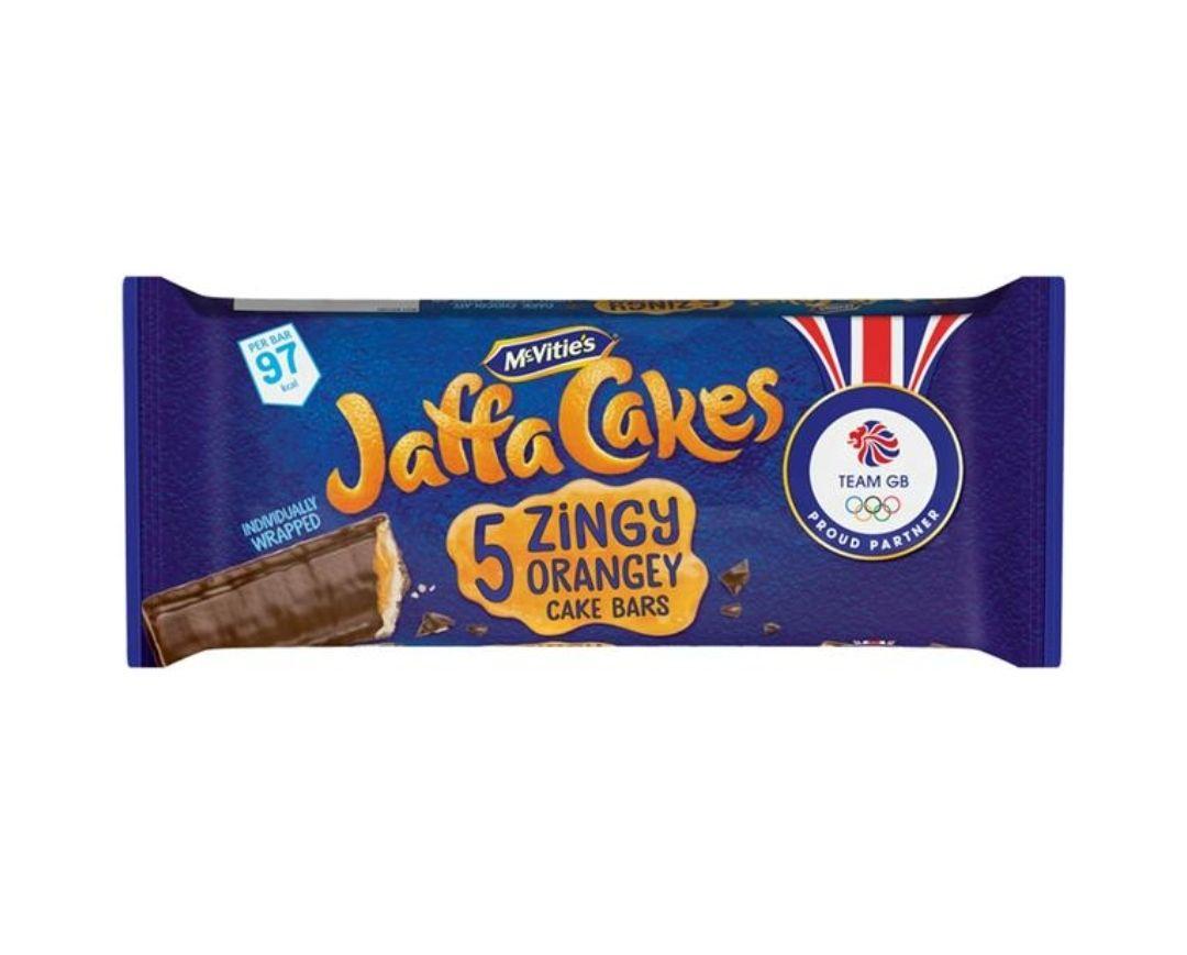 Mcvities Jaffa Cakes Cake Bars 5 Pack 72p @ Tesco