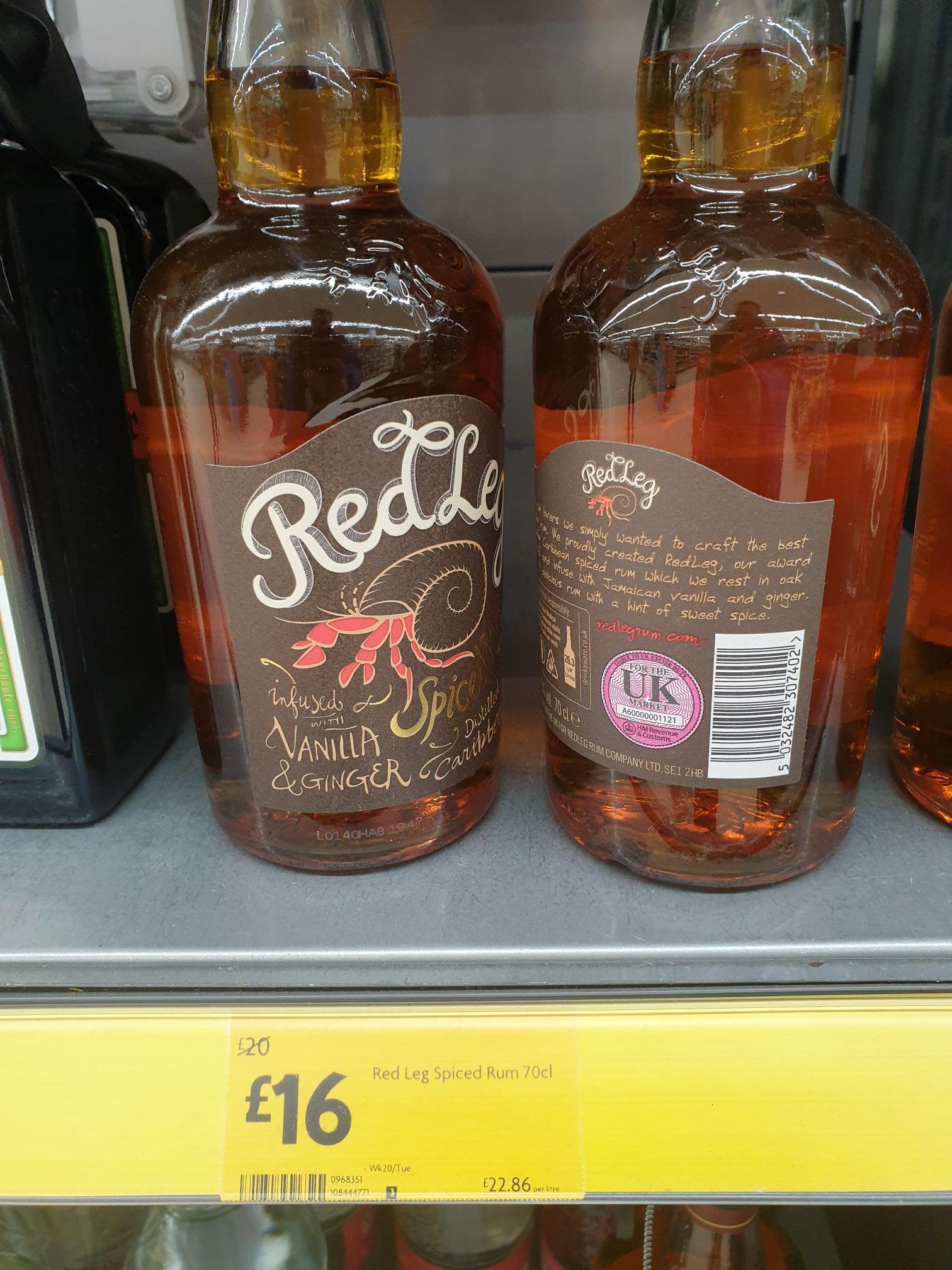 Red Leg Rum £16 @ Morrisons Hartlepool