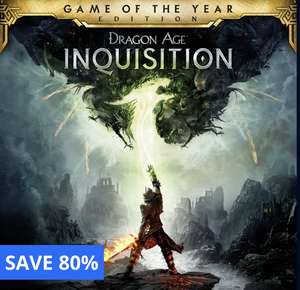 Dragon Age: Inquisition - Game of the Year Edition £4.99 @ PlayStation store