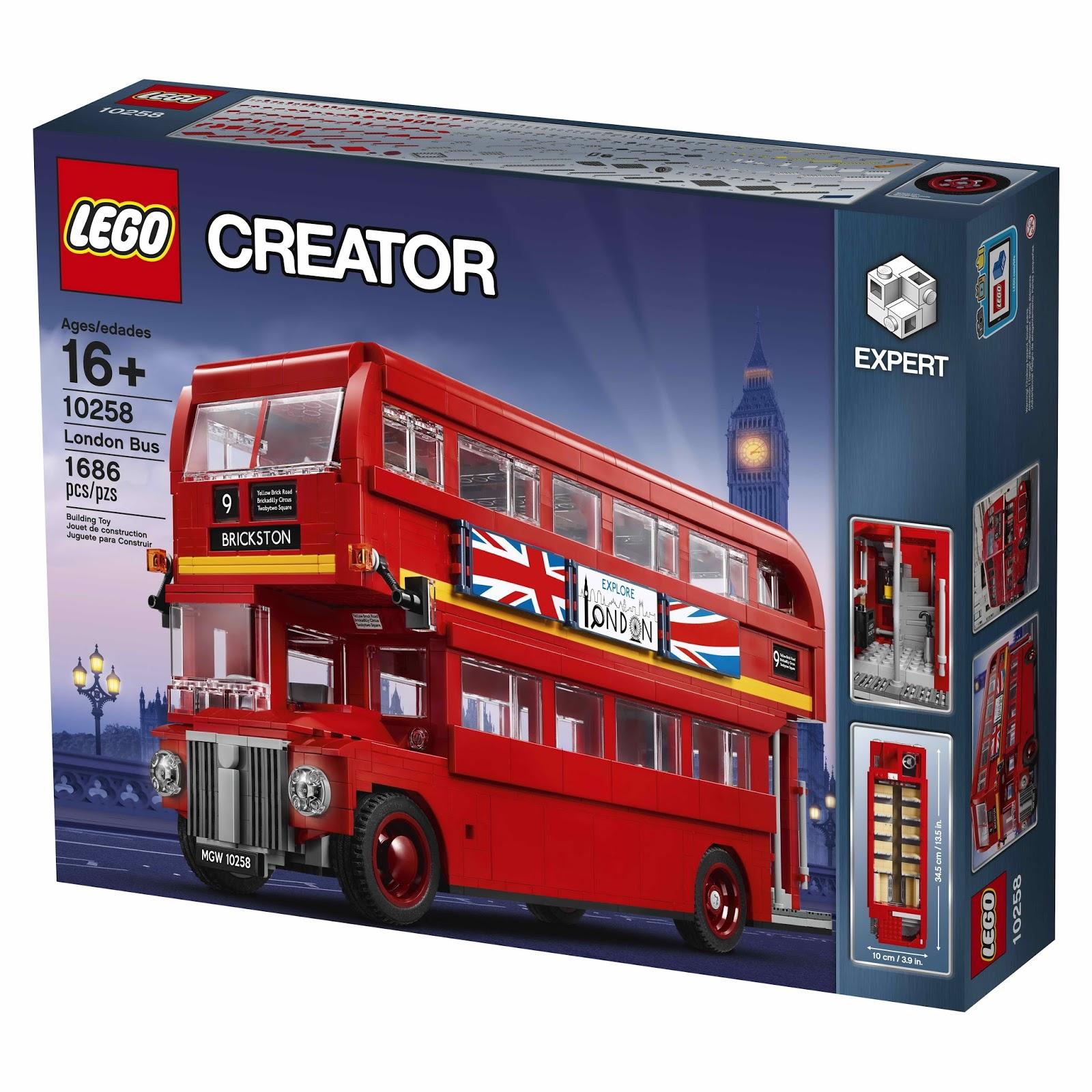 LEGO Creator Expert 10258 London Bus - £90 @ Hamleys with code