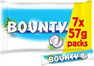 Bounty milk chocolate - 70 for £13.99 delivered (Or £10 if you spend £40+) - Amazon Prime Now