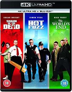 Shaun of the Dead / Hot Fuzz / The World's End: The 4K Collection [Blu-ray] £29.99 delivered at Amazon