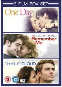 One Day / Remember Me / Charlie St. Cloud 3 DVD film box set - £2.89 @ Base (+ 1.6% cash back via Quidco)