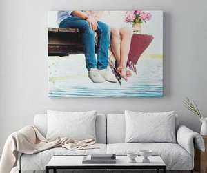 120cm x 80cm Canvas print for £27 delivered (26.4% possible Quidco) @ My Picture