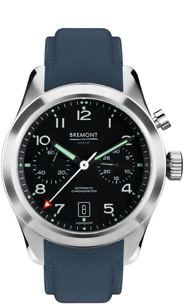 Bremont Arrow Armed Forces Gents Blue Strap Watch £2876 @ Peter Jackson