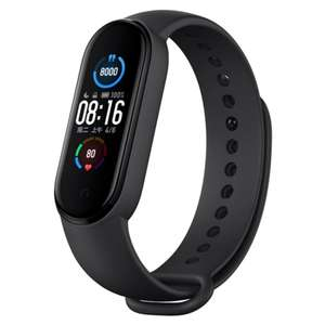 """[Pre-Order] Xiaomi Mi Band 5: Fitness Tracker (1,1"""" Amoled Display, 24/7 Heart Rate, 5ATM waterproof)   £25.12 at RTDC Store / AliExpress"""