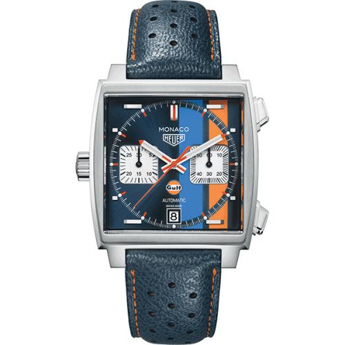 Monaco Gulf Automatic Watch - CAW211R.FC6401 £3,609 @ Cohen & Massias