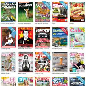 Free Digital Magazine from Pocketmags worth up to £4.99 @ Vodafone VeryMe Rewards
