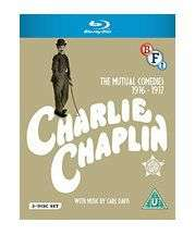 Charlie Chaplin the mutual films collection blu ray £11.49 @ base.com