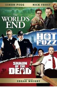 The Three Flavours Cornetto Trilogy £9.99 iTunes
