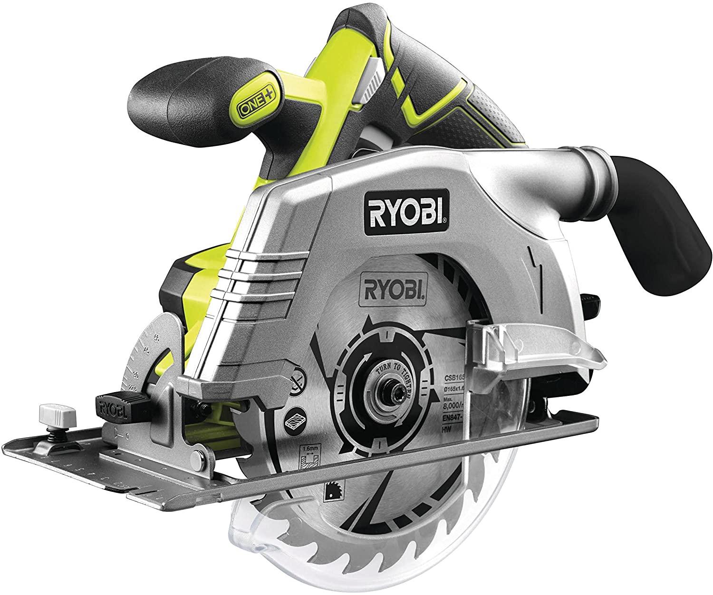 Ryobi R18CS-0 ONE+ 18 V Cordless Circular Saw, 165 mm (Body Only) £95.55 @ Amazon