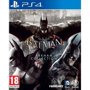 Batman Arkham Collection Triple Pack - PS4 £19.95 delivered at The Game Collection