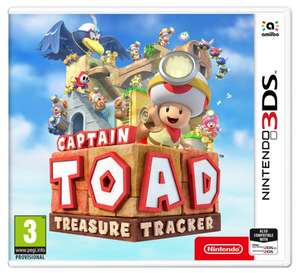 Captain Toad Treasure Tracker 3DS Game £11.44 delivered @ Argos