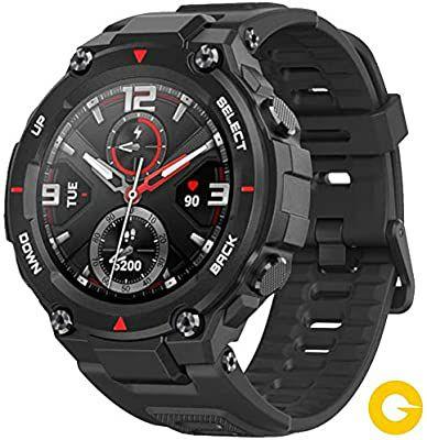 Amazfit T-Rex Sports Smartwatch - 20 Days Battery AMOLED Screen - £124 / £119 With Revolut Etc. @ Amazon Spain