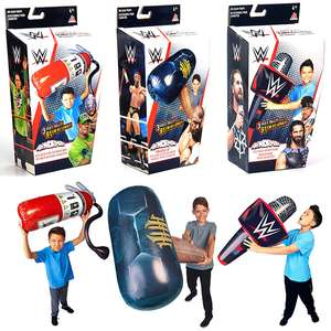 WWE Airnormous Fire Extinguisher, Microphone & Sledgehammer - Inflatable WWE Kids Toys £10 at Yankee Bundles