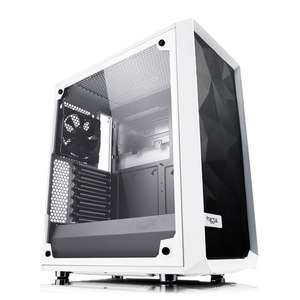 Fractal Design Meshify C White Tempered Glass Mid Tower PC Gaming Case - £91.49 Delivered @ Scan