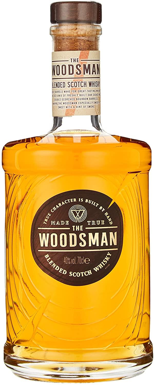 The Woodsman Whisky 70 cl £18 (Prime) / £22.49 (non Prime) at Amazon
