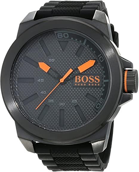 Hugo Boss Orange New York Men's Quartz Analogue Classic Black Silicone Strap 1513004 - £69.99 @ Amazon