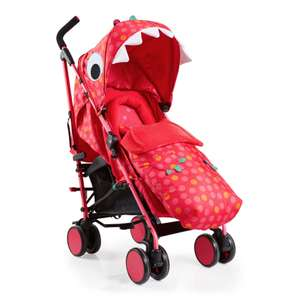Cosatto Supa Miss Dinomite Pushchair Stroller £99.95 includes Footmuff and Raincover with free Delivery From Online4baby