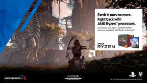 Horizon Zero Dawn Complete edition free with purchase of selected AMD CPUs from £179.99 + £8.70 delivery at Overclockers