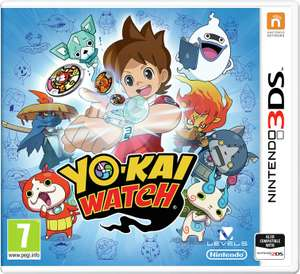 Yo-Kai Watch Nintendo 3DS Game Now £1.99 (Free click or collect / £3.95 delivery) @ Argos